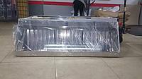 Зонт вытяжной пристенный с жироуловителями 1000х1000, фото 1