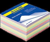 Buromax Блок бумаги для заметок 80*80мм 400л, Микс, не клееный Арт. ВМ. 2285
