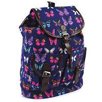 Рюкзак молодежный JO Бабочки 36x36x15см, 1962