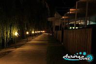 Освещение парковых зон