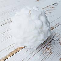 Свеча Ohaina шар-ракушка молоко, фото 1