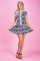 Красивое летнее платье из штапеля