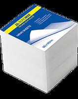 Блок бумаги для заметок 90*90мм 500л, Белый, не клееный, ВМ. 2215