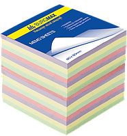 Buromax Блок бумаги для заметок 90*90мм 500л, Микс, не клееный Арт. ВМ. 2289