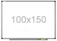 Доска магнитно-маркерная в алюминиевой раме 100х150см