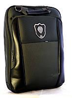 Рюкзак-сумка JO для ноута,орг. 38*30*5см, черная, 3902-В