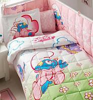 Постельное белье для кроватки с бортиком TAC SIRINLER BABY