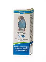 Canina Petvital V30 Кормовая добавка для птиц при простудах и  ангине