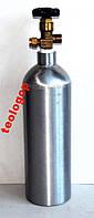Alsafe алюминиевый углекислотный баллон 2 л СО2
