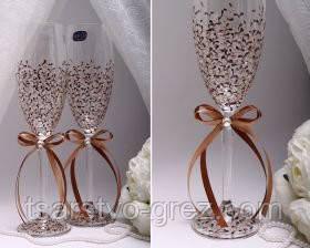 Свадебные бокалы Chocolate