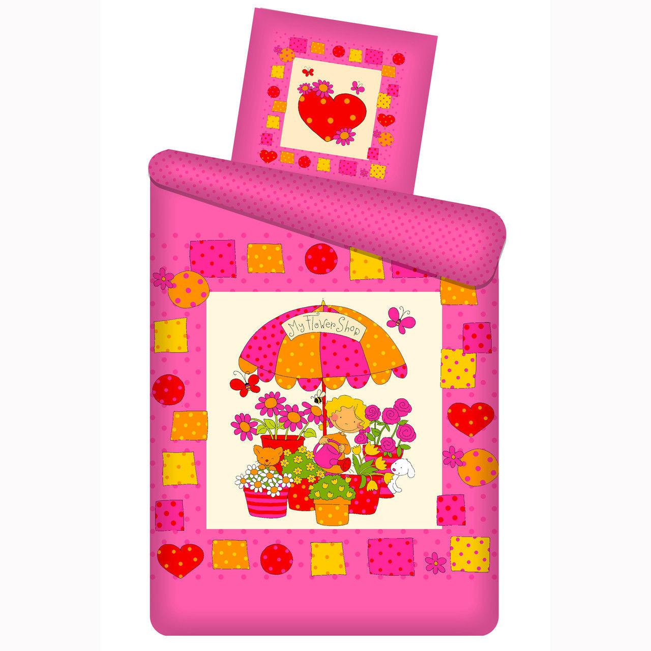 Подростковый постельный комплект «Цветочный магазин», Непоседа