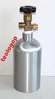 Alsafe алюминиевый углекислотный баллон 1 литр СО2
