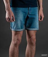 Джинсовые шорты мужские летние Staff голубые Art. GZ0007