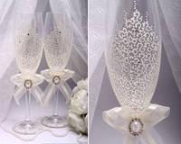 Свадебные бокалы в ассортименте, фото 1