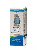 Canina Petvital V70 Кормовая добавка для птиц при диареи