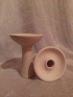Чаша для кальяна (Украина) Tangiers украинская белая глина под калауд