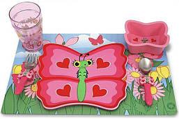 Детский набор посуды Melissa & Doug - Бабочка Белла
