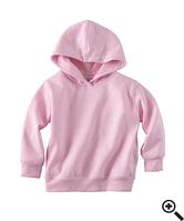 Худи Rabbit Skins Fleece Pullover Hood Pink