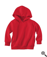 Худи Rabbit Skins Fleece Pullover Hood Red