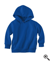 Худи Rabbit Skins Fleece Pullover Hood Royal