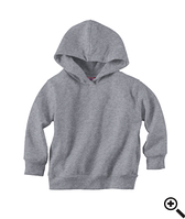 Худи Rabbit Skins Fleece Pullover Hood Heather
