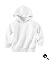 Худи Rabbit Skins Fleece Pullover Hood White
