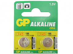 Батарейка часовая GP 186-U10 ALKALINE, 1.5V