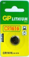 Батарейка дисковая GP CR1616-U5 Lithium CR1616, 3V