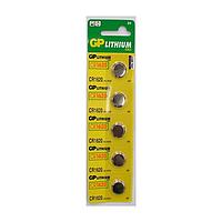 Батарейка дисковая GP CR1620-U5 Lithium CR1620, 3V