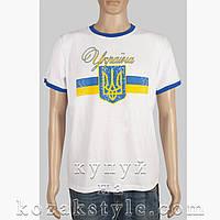"""Футболка """"Україна"""" (біла)"""