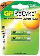 Аккумулятор GP ReCyko AAA, 850mAh, NiMH (85AAAHCB-C2)