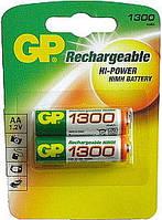 Аккумулятор GP AA 1300 mAh (130AAHC-U2) NiMH, 1.2V