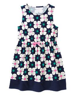 Летнее платье для девочки 6 лет Gymboree (США)