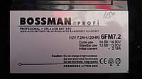 Аккумулятор Bossman Profi 12V 7.2Ah (6FM7.2) 20HR