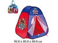 Детская игровая палатка домик Щенячий патруль