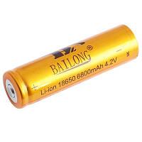Аккумулятор BAILONG 18650-6800mAh, золотой