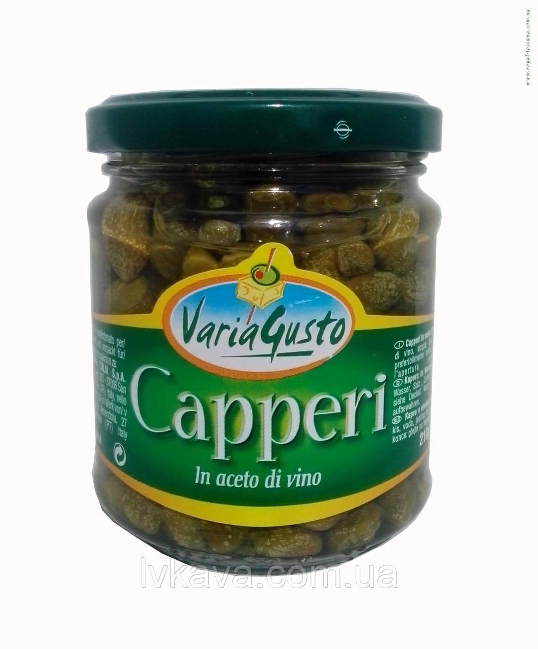 Каперсы Varia Gusto, 210 гр