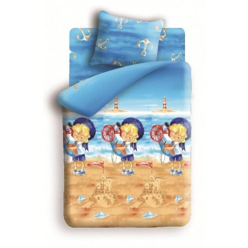 Подростковый постельный комплект «Морячок», Непоседа