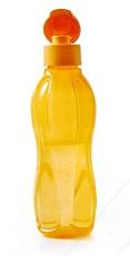 Бутылка 750 мл Tupperware оранжевая с клапаном