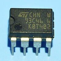 Микросхема 93c46 6  dip8   STM