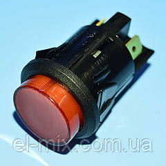 Кнопка з фіксацією положення 220В AE-C7053AFNAA червона 2группы ON-OFF Arcolectric