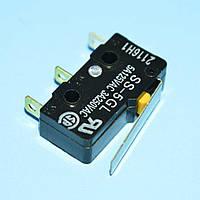 Микропереключатель 19,8х10,2х6,4мм SS-5GL 3pin с короткой планкой  Omron