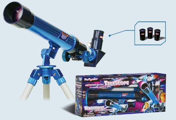 детский телескоп