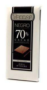 Черный  шоколад Torras 70 % какао , 200 гр, фото 2