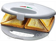Сендвичница - бутербродница Clatronic ST 3477 white 750 Вт Германия ТОП ПРОДАЖ