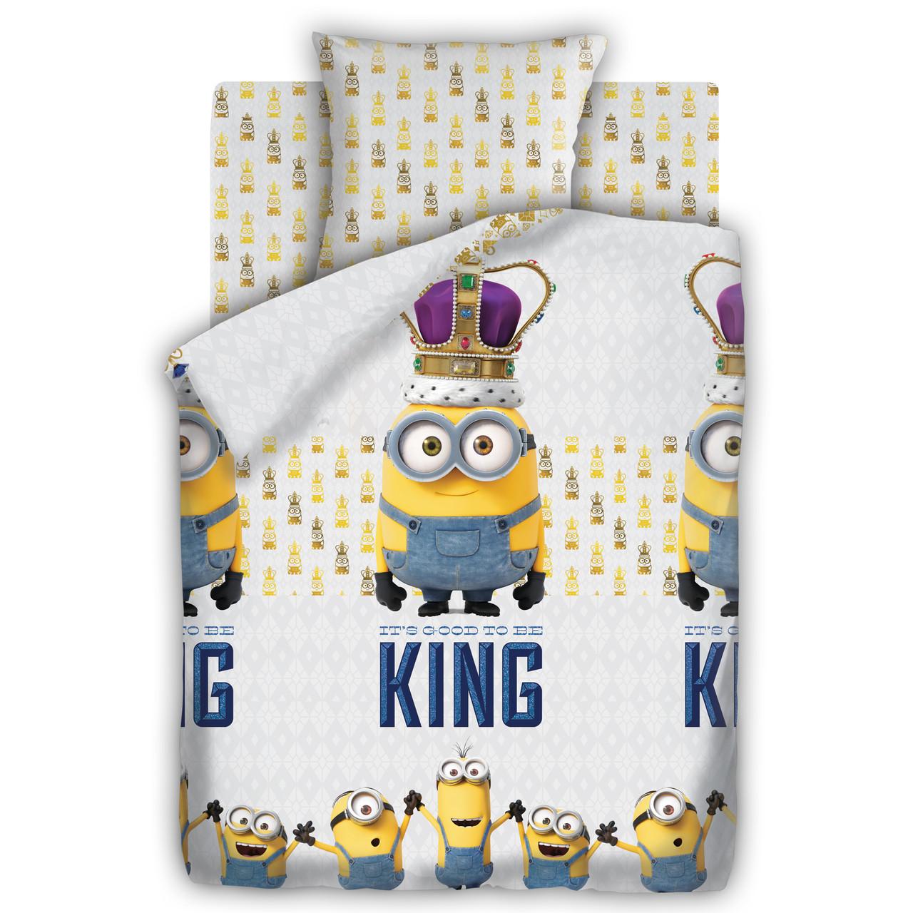 Подростковый постельный комплект «Кинг», Миньоны
