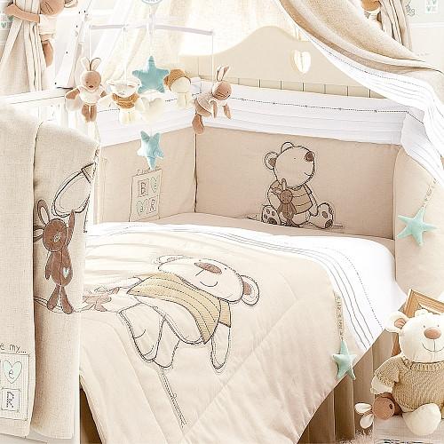 Детское постельное в кроватку, наборы и защита в кроватку