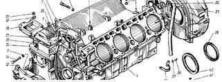 10.Запчасти к двигателю камаз