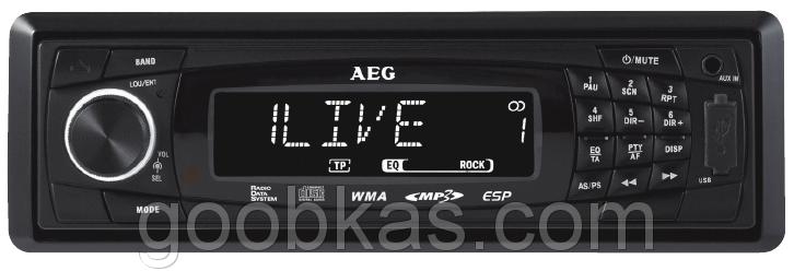 Автомагнитола AEG AR 4020 CD/MP3 Германия