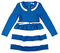 Платье из французского трикотажа для девочки